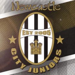 Newcastle City Juniors U9 Barca team badge