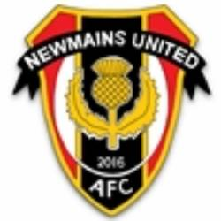 Newmains United AFC team badge
