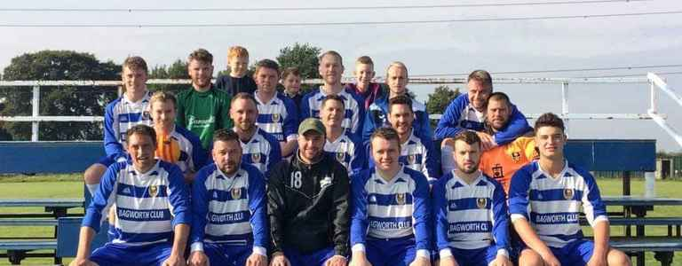 Newstock Rangers Football Club team photo
