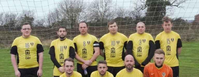 Newstock Rangers Reserves team photo