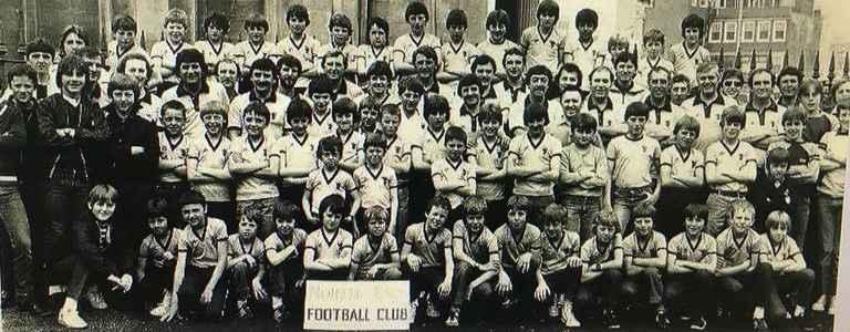 North End FC team photo