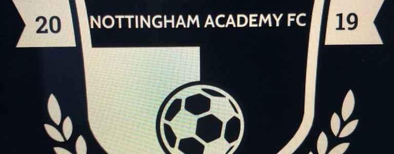 Nottingham Academy FC team photo