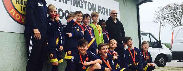 Orpington Rovers Pumas team photo