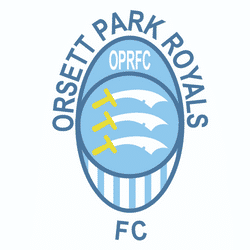 Orsett Park Royals U8 Black team badge