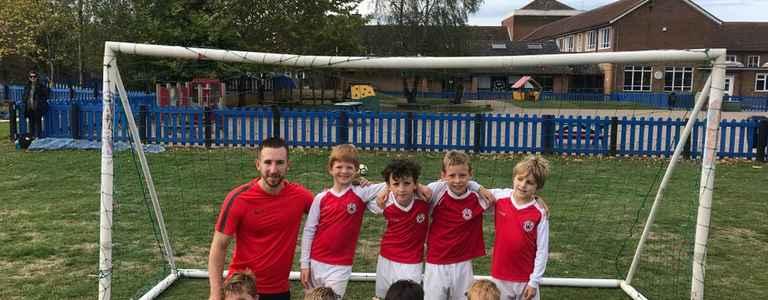 Oxshott Royals U9s Lions team photo