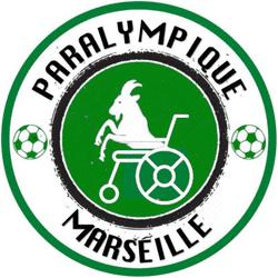 Paralympique Marseille team badge
