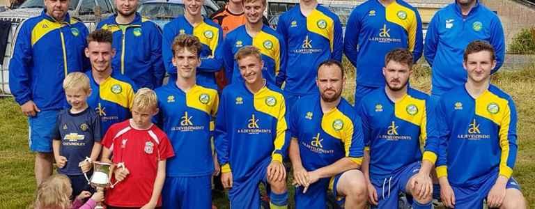Pentraeth FC team photo