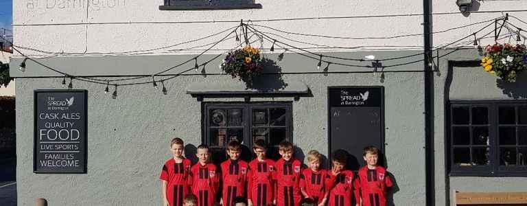 Pontefract Sports & Social Juniors U12's team photo