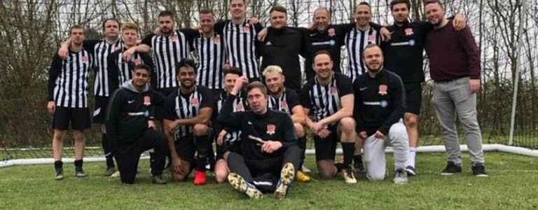 Potten End First team photo