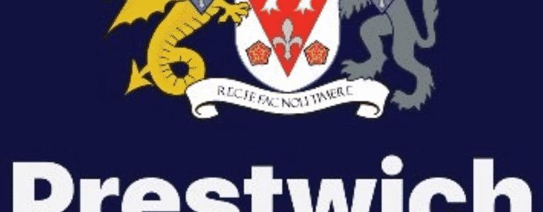 Prestwich FC Thunder team photo