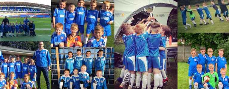 Ramsbottom United Juniors U8 Dodgers team photo