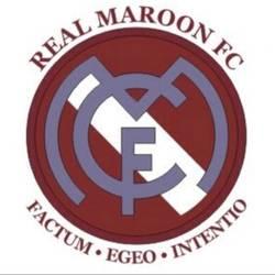 Real Maroon team badge