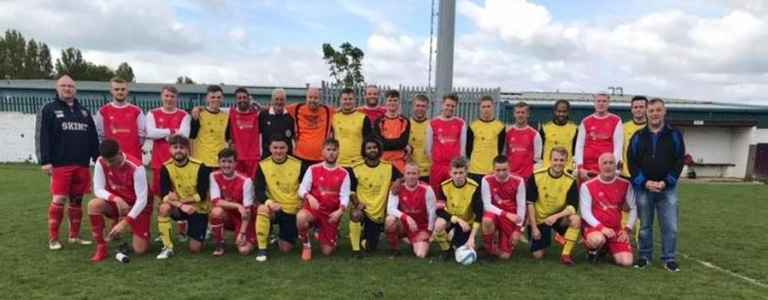 Real Rosehill Reserves team photo