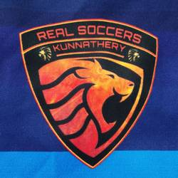 REAL SOCCER'S KUNNATHERY team badge