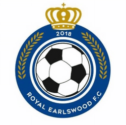 Royal Earlswood FC U9 Whites team badge