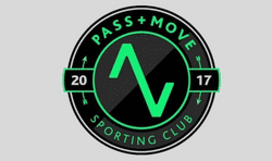 SC Pass Move Arrows First team badge