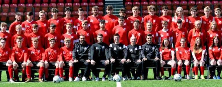 Scarborough Football Scholarship 1 team photo