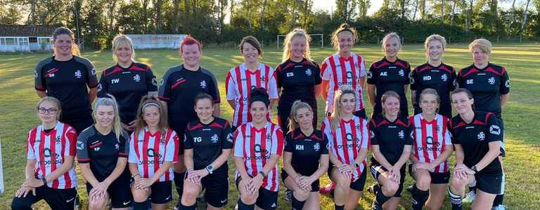 Shaftesbury Ladies FC team photo