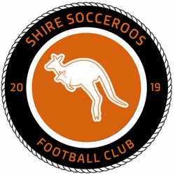 Shire Socceroos team badge