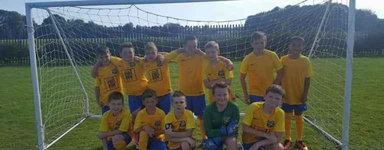 Smsskills FC U11 team photo