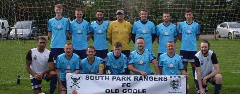 SOUTH PARK RANGERS RESERVES team photo