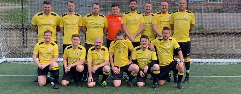 Spartak WSQ Veterans FC team photo