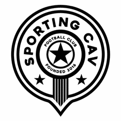 Sporting CAV Football Club team badge