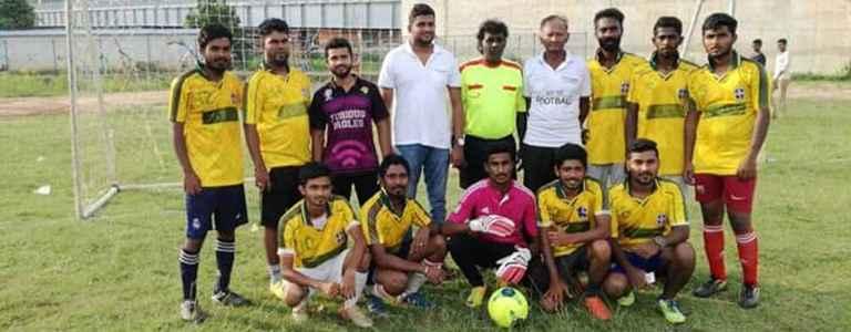 SPORTING CITY FC team photo