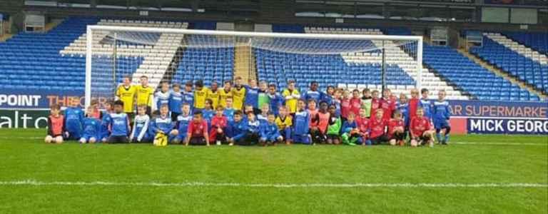 Sporting FC Yellows U11s team photo