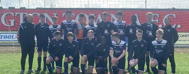 Sproatley Juniors U17 team photo