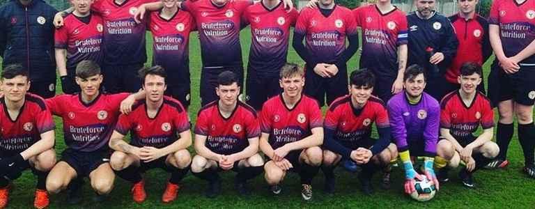 St. Pats Phoenix F.C. team photo