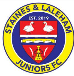 Staines & Laleham Juniors Sports U10s team badge