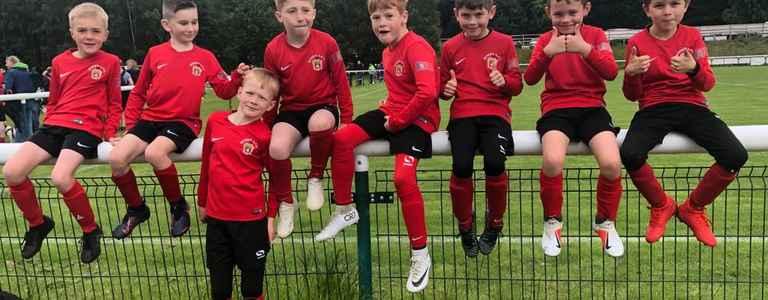 Steeton Juniors team photo
