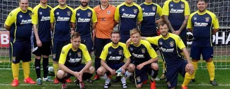 Stevenage Supporters Association FC team photo