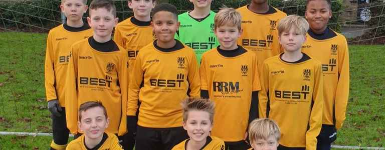 Stotfold Junior U12 Greys team photo