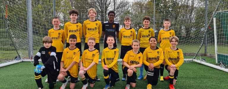Stotfold Junior U13 Greys team photo