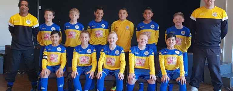 Sun Sports U13 team photo