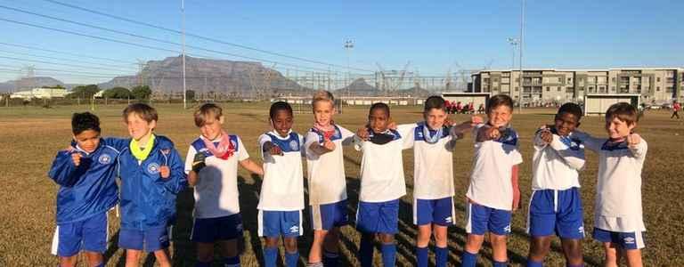 Sunningdale City FC U10 Dodgers team photo