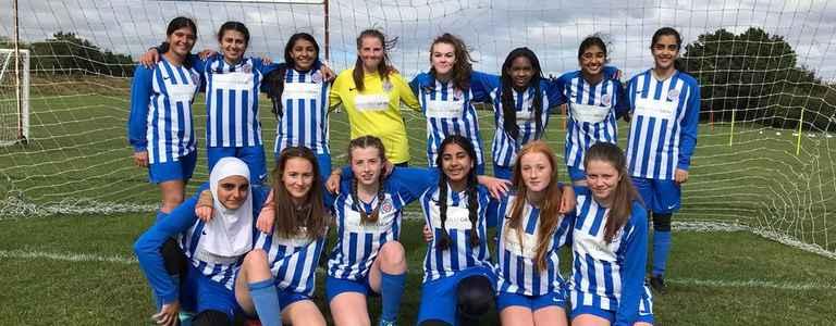Sutton Coldfield Town Juniors U16 Girls team photo