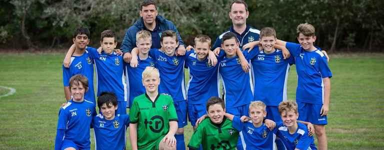 Sutton United Youth U13 team photo
