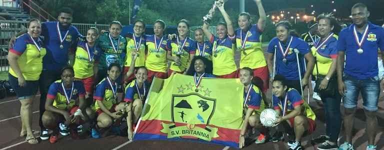 Sv Britannia Damas team photo