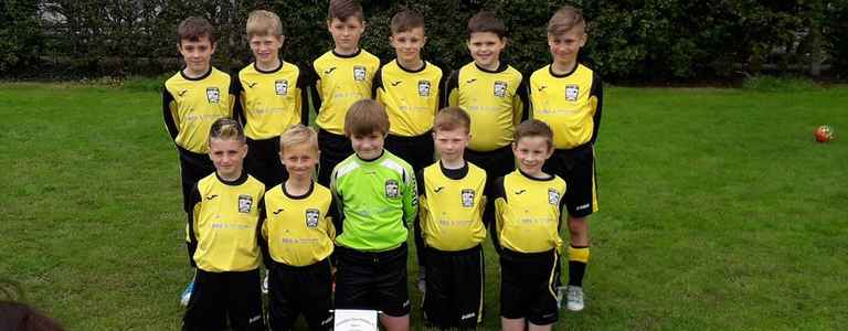 Tewkesbury Town Panthers U11's team photo