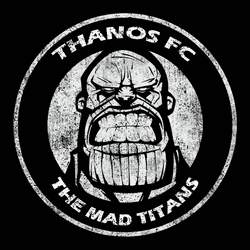 THANOS FOOTBALL CLUB team badge