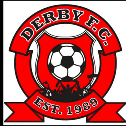 The DERBY FC team badge