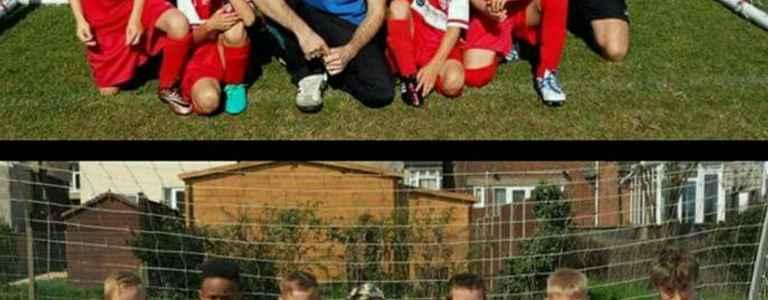 Totternhoe Youth FC Under 9 team photo