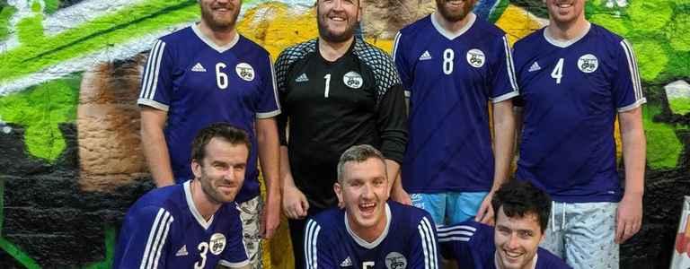 Tractor Boys FC team photo