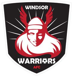 U08 Windsor Warriors team badge