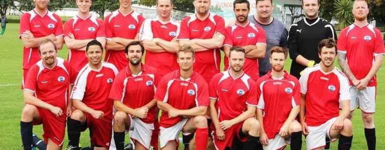 Uni Mount Quiche Div 4 team photo