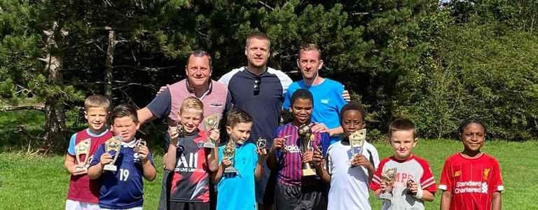 Upminster Park Rovers Red U9's team photo