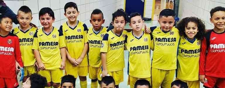 Villarreal NY Bolaños U08 team photo